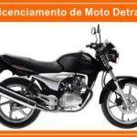 Licenciamento de Moto Detran